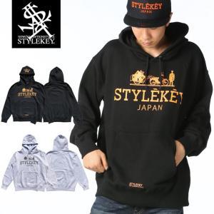 STYLEKEY(スタイルキー) スウェットパーカー HISTORY HOOD SWEAT(SK17FW-SWH05) ストリート系 B系 大きいサイズ|b-bros