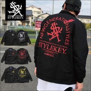 STYLEKEY(スタイルキー) コーチジャケット ARCADE COACH JACKET(SK17HO-JK01) ストリート系 B系 大きいサイズ|b-bros