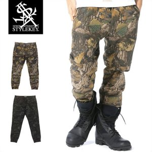 STYLEKEY スタイルキー 迷彩ジョガーパンツ REAL TREE CAMO JOGGER PANTS(SK17SP-PT02) ストリート系 B系 大きいサイズ|b-bros