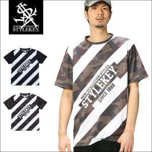 【アウトレット】STYLEKEY スタイルキー ドライTシャツ NO ENTRY S/S DRY TEE(SK17SU-DSS03) ストリート系 B系 大きいサイズ|b-bros