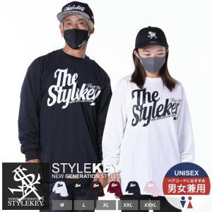 STYLEKEY(スタイルキー) 長袖Tシャツ WING LOGO L/S TEE(SK18FW-LS04) ストリート系 B系 大きいサイズ|b-bros