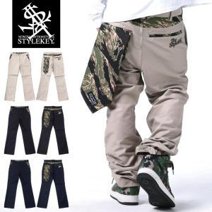 STYLEKEY スタイルキー バンダナ付きワークパンツ TIGER CAMO BANDANNA WORK PANTS(SK18FW-PT01) ストリート系 B系 大きいサイズ|b-bros