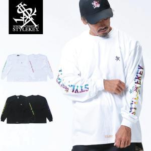 STYLEKEY(スタイルキー) 長袖Tシャツ CONFIRM L/S TEE(SK18HO-LS04) ストリート系 B系 大きいサイズ|b-bros