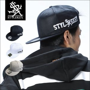 STYLEKEY(スタイルキー) スナップバックキャップ TEXHOOD SNAPBACK CAP(SK18SP-CP01) ストリート系 B系 大きいサイズ b-bros
