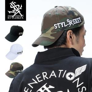 STYLEKEY(スタイルキー) ローキャップ TEXHOOD LOW CAP(SK18SP-CP02) ストリート系 B系 大きいサイズ b-bros