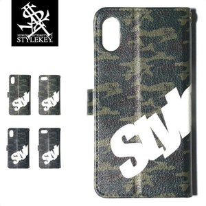 STYLEKEY スタイルキー iPhone手帳型ケース ROYAL CAMO iPhone DIARY CASE(SK18SP-ET02) ストリート系 B系|b-bros