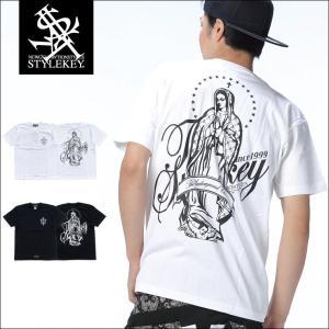 STYLEKEY スタイルキー Tシャツ SALVATION S/S TEE(SK18SP-SS08) ストリート系 B系 大きいサイズ|b-bros