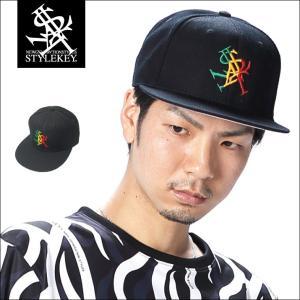 STYLEKEY(スタイルキー) スナップバックキャップ RASTA ROYAL SNAPBACK CAP(SK18SU-CP01) ストリート系 B系 大きいサイズ|b-bros