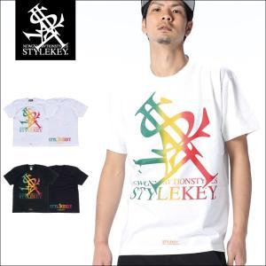 STYLEKEY スタイルキー Tシャツ RASTA ROYAL S/S TEE(SK18SU-SS03) ストリート系 B系 大きいサイズ|b-bros
