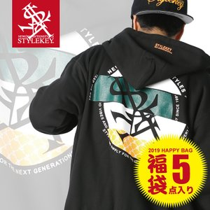 【福袋】【送料無料】 STYLEKEY(スタイルキー) STYLEKEY 2019年 HAPPY BAG★12,000円★(SK19-FB12) ストリート系 B系 大きいサイズ|b-bros