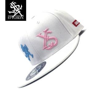 STYLEKEY(スタイルキー) スナップバックキャップ IMAGINATION SNAPBACK CAP(SK19SP-CP03) ストリート系 B系 大きいサイズ WHITE ホワイト 白|b-bros