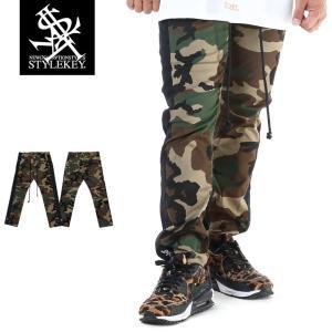 STYLEKEY スタイルキー 迷彩スキニーパンツ CAMOUFLAGE LINE SKINNY PANTS(SK19SP-PT02) ストリート系 B系 大きいサイズ|b-bros