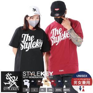 STYLEKEY(スタイルキー) 半袖Tシャツ WING LOGO S/S TEE(SK19SP-SS04) ストリート系 B系 大きいサイズ|b-bros