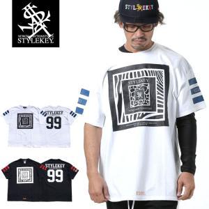 STYLEKEY スタイルキー 半袖Tシャツ CAPTURE S/S TEE(SK19SP-SS08) ストリート系 B系 大きいサイズ|b-bros