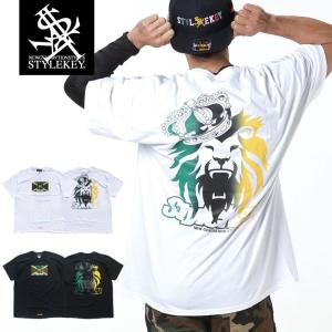 STYLEKEY スタイルキー 半袖Tシャツ REIGNING KING S/S TEE(SK19SP-SS09) ストリート系 B系 大きいサイズ|b-bros