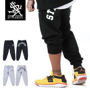 STYLEKEY(スタイルキー) スウェットパンツ ARCH LOGO SWEAT PANTS(SK19SP-SWPT01) ストリート系 B系 大きいサイズ|b-bros