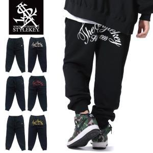 STYLEKEY(スタイルキー) スウェットパンツ ARCH SCRIPT SWEAT PANTS(SK19SP-SWPT02) ストリート系 B系 大きいサイズ|b-bros