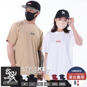 STYLEKEY(スタイルキー) 半袖Tシャツ SMART BOX S/S TEE(SK19SU-SS01) ストリート系 B系 大きいサイズ|b-bros