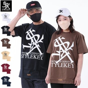 STYLEKEY(スタイルキー) 半袖Tシャツ ROYAL LOGO S/S TEE(SK19SU-SS03) ストリート系 B系 大きいサイズ|b-bros