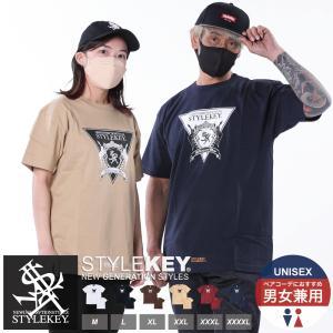 STYLEKEY(スタイルキー) 半袖Tシャツ TRIANGLE LOGO S/S TEE(SK19SU-SS04) ストリート系 B系 大きいサイズ|b-bros