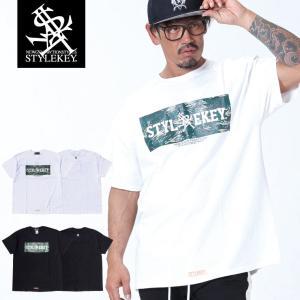 STYLEKEY スタイルキー 半袖Tシャツ COCKPIT S/S TEE(SK19SU-SS06) ストリート系 B系 大きいサイズ|b-bros