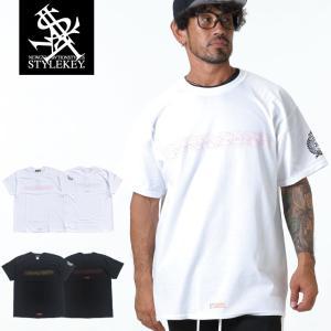 STYLEKEY スタイルキー 半袖Tシャツ PLA-MODEL S/S TEE(SK19SU-SS15) ストリート系 B系 大きいサイズ|b-bros