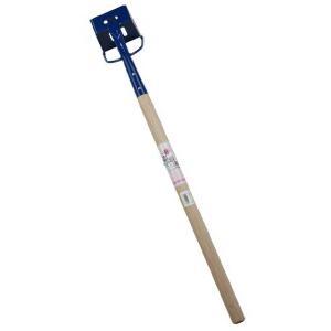 青塗下水ジョレン 小 600mm柄  (ジョレン,清掃用具,清掃用品,清掃機)