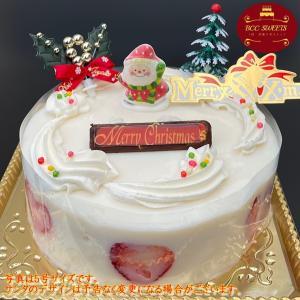 クリスマスケーキ 大阪ヨーグルトケーキ 6号 2017年 18cm ホール|b-c-c