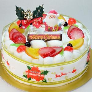 クリスマスケーキ リース 生クリーム 5号 2017年 15cm ホールケーキ|b-c-c