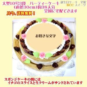 ウエディングケーキNo,1048/10号2段モンブランケーキ/パーティーケーキ|b-c-c