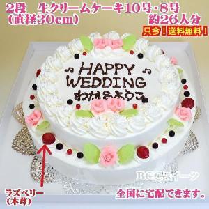 ウエディングケーキNo,104/オーダーケーキ/パーティーケーキ/バースデーケーキ/誕生日ケーキ|b-c-c