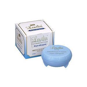 数量限定 ラヴィリン デオドラントクリーム 足用 12.5g(医薬部外品)ブルーパッケージ|b-cafe