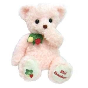 ぬいぐるみ テイクオフ ワイルドストロベリー ピンク Mサイズ(約40cm)wild strawberry TAKEOFF プレゼント クリスマス|b-cafe