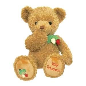 ぬいぐるみ テイクオフ ワイルドストロベリー ブラウン Lサイズ(約50cm)wild strawberry TAKEOFF プレゼント クリスマス|b-cafe