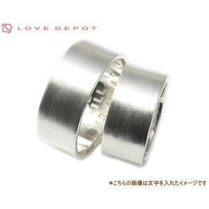 LOVE DEPOT ラヴディーポ シルバー950 ペアリング DPR01-018x2 文字3行代引き不可|b-ciao