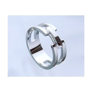 closetomeアクロス リング 指輪 シルバー925 silver925 刻印無料 リング内側に4文字 1行まで 文字入れ 名入れ イニシャル|b-ciao