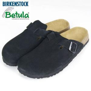BIRKENSTOCK BETULA ビルケンシュトック ベチュラ ロック スエードレザー ROCK SABO SANDAL サボサンダル ブラック|b-e-shop