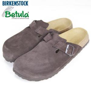 BIRKENSTOCK BETULA ビルケンシュトック ベチュラ ロック スエードレザー ROCK SABO SANDAL サボサンダル ブラウン|b-e-shop