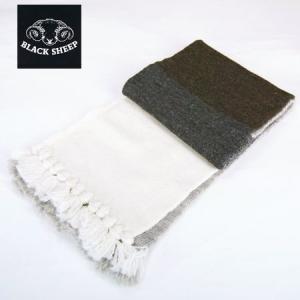 BlacK Sheep ブラックシープ パッチワーク ニット マフラー KNIT MUFFLER クレイジーカラー 2013 b-e-shop