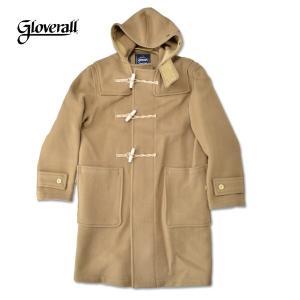 gloverall [グローバーオール]  MONTY モンティ メンズ ダッフルコート  Made in England(英国製) DUFFLE COAT 58552 キャメル 膝上丈 ダッフルコート|b-e-shop