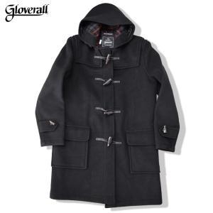 gloverall グローバーオール ダッフルコート  Made in England(英国製) DUFFLE COAT 920C BLACKブラックduffle 膝上丈 ダッフルコート|b-e-shop