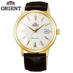 ORIENT オリエント Bambino Automatic バンビーノ オートマチック ホワイト/ゴールド  オリエント 逆輸入 自動巻き ドレスウォッチ メンズ腕時計 |b-e-shop