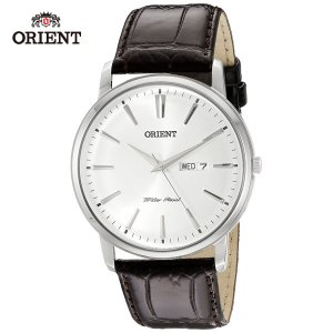 ORIENT [オリエント] 逆輸入モデル クォーツ ホワイト/シルバー  FUG1R00X QUARTZ ドレスウォッチ メンズ腕時計 クラシック|b-e-shop