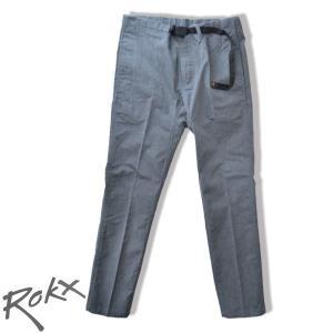 ROKX ロックス プレス トゥ パンツ PRESS TO PANT クライミングパンツ グレーGREY b-e-shop