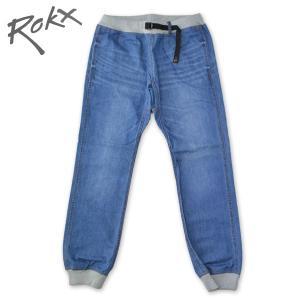 ROKX[ロックス] COTTONWOOD DENIM PANT コットンウッド デニム パンツ クライミング リブパンツ DARKWASH ダークウォッシュ b-e-shop