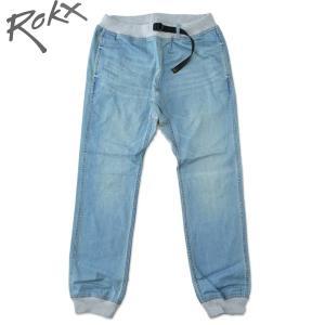 ROKX[ロックス] COTTONWOOD DENIM PANT コットンウッド デニム パンツ クライミング リブパンツ HARDWASH ハードウォッシュ b-e-shop