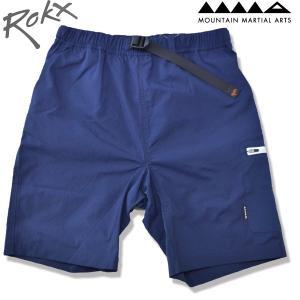 ROKX[ロックス] x Mountain Martial Arts[マウンテンマーシャルアーツ] MMA メッシュポケットクライミングショーツ MESH POCKET CLIMBING SHORT  NAVY ネイビー b-e-shop