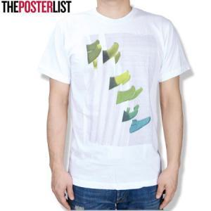 THE POSTERLIST ポスターリスト Fins Green White Tee クルーネックTシャツ クルーTEE PT756 ホワイト|b-e-shop