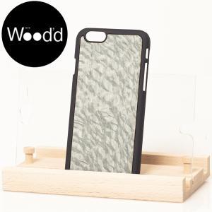 Wood'd ウッド iPhone covers ウッド 天然木 アイフォーンカバー iPhoneケース iPhone6/6S 対応 CARBALHO LT BLUE ライトブルー b-e-shop