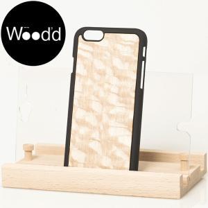 Wood'd ウッド iPhone covers ウッド 天然木 アイフォーンカバー iPhoneケース iPhone6/6S 対応 CARBALHO WHITE  ホワイト b-e-shop